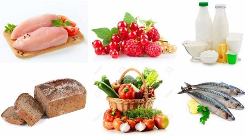 Низкожировая диета меню