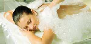 Мыльный массаж полезен для оздоровления тела