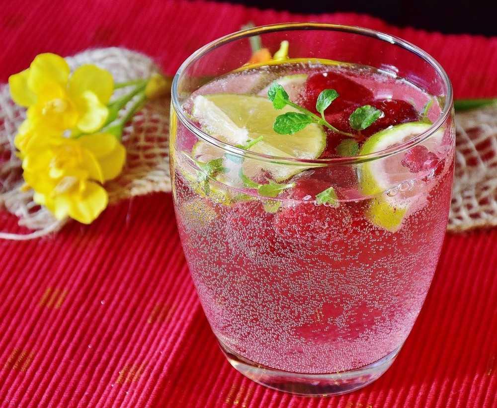 Кефир вода лимон