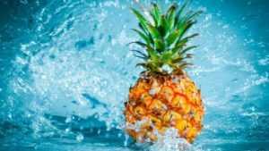 Продукты для похудения ананас