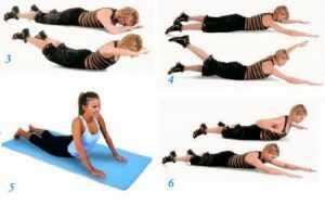 Фитнес для похудения спины