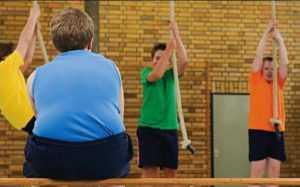 Упражнения для похудения для детей