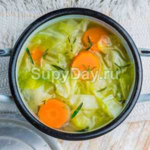 Овощной суп рецепт для похудения